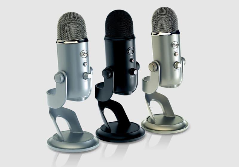 blue yeti mic lineup