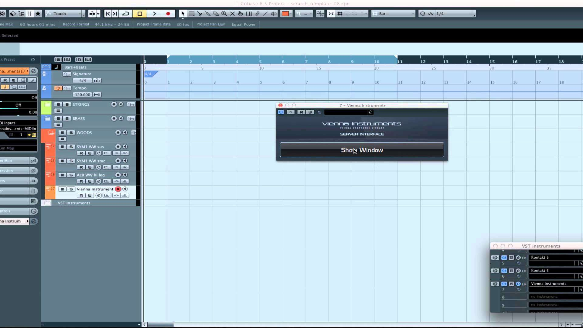 How to Create an Orchestral Template in your DAW