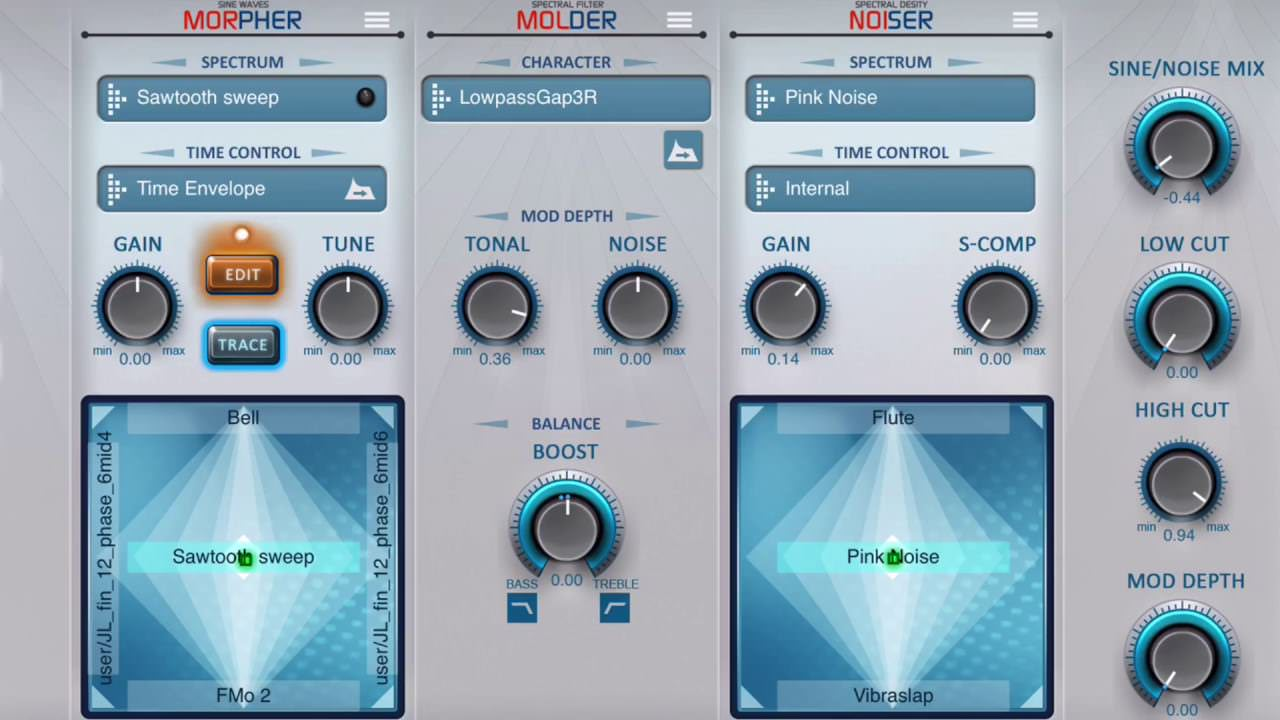 PPG Infinite iPad Synth