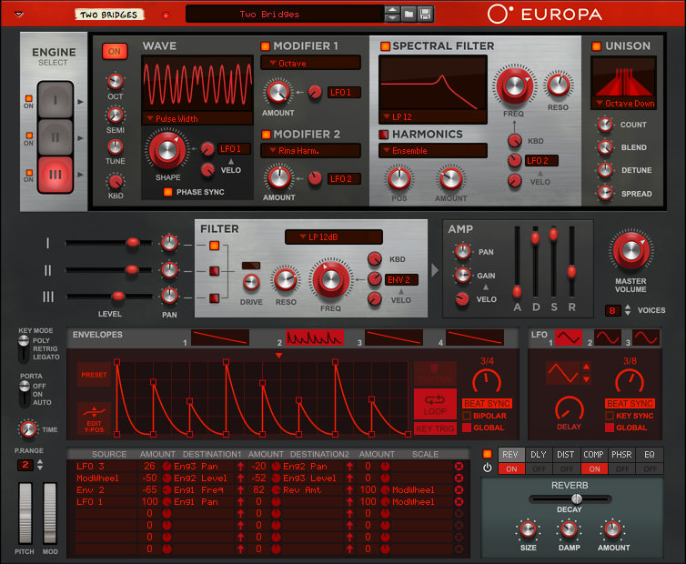 image: Europa Shapeshifting Synthesizer