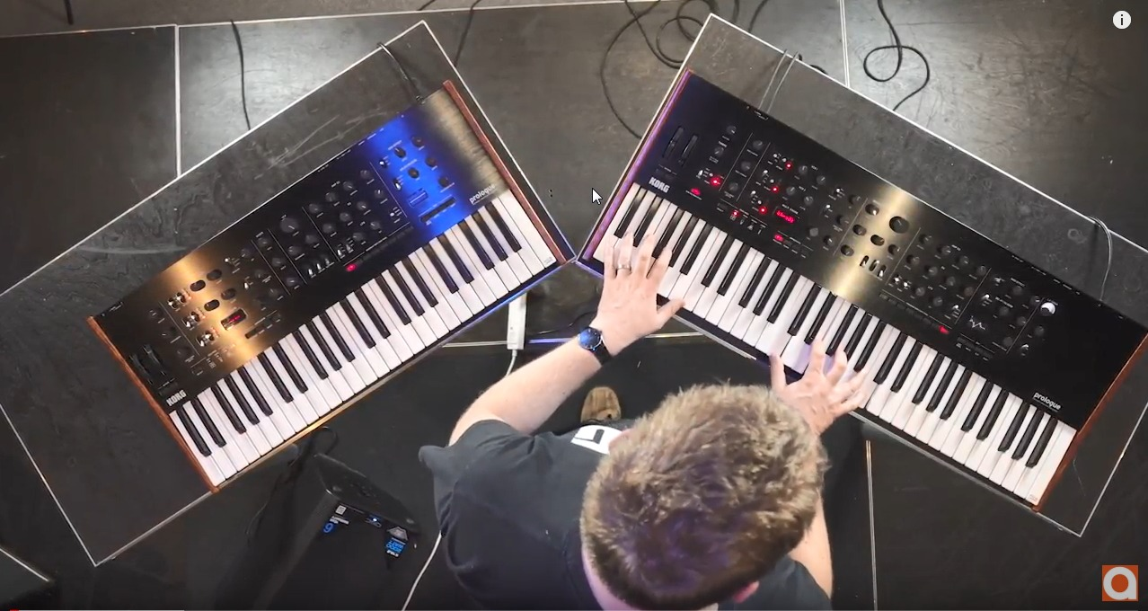music production blog - Korg-Prologue-16-and-8-Polyphonic-Analogue-Synth-Video-Review
