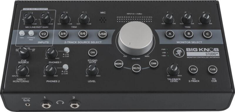 Mackie Big Knob Studio+ 4x3 Monitor Controller